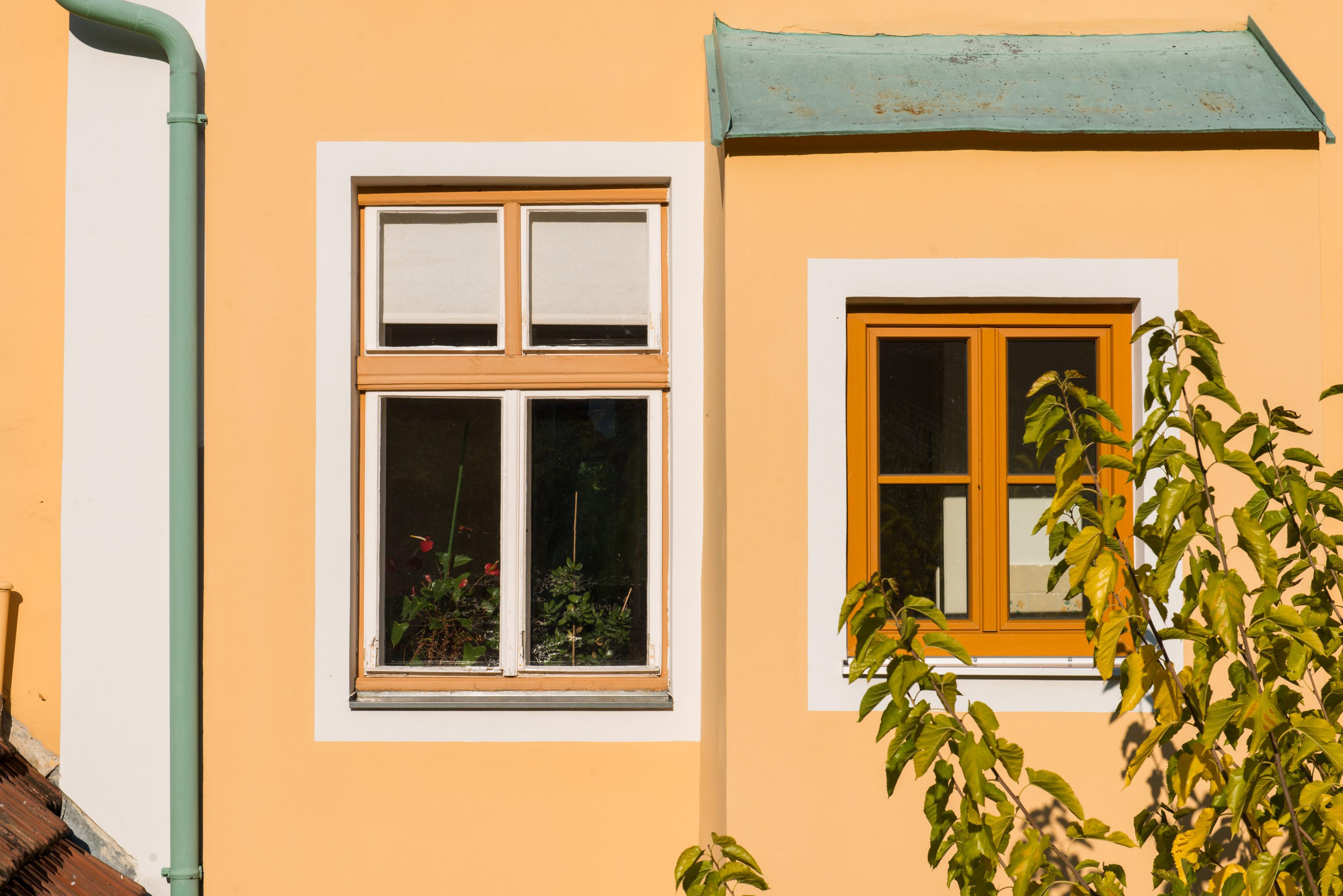 Fenster im Haupthaus © Punkt Fünf e.U./Martin Skopal