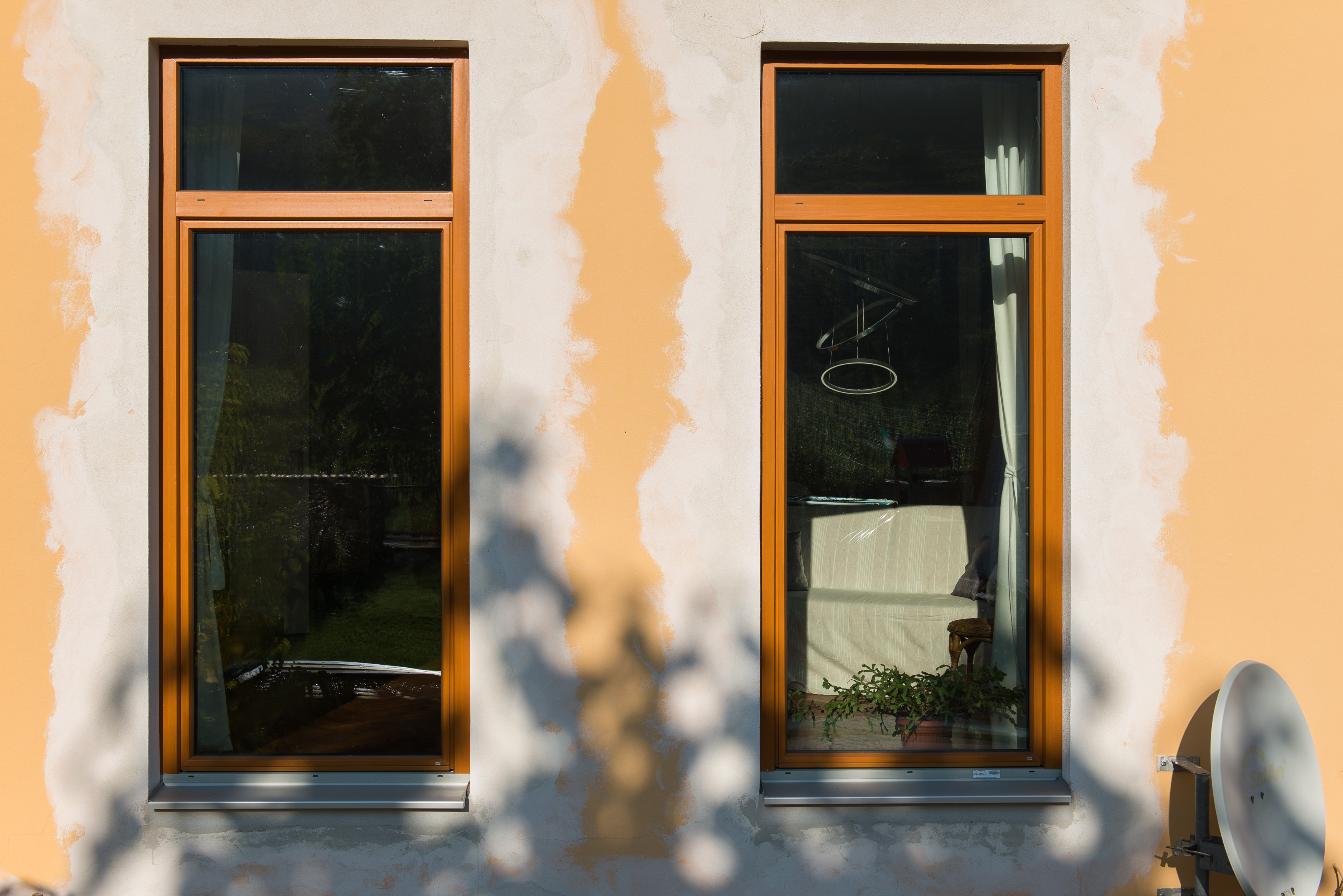 Dreifach verglaste Fenster © Punkt Fünf e.U./Martin Skopal
