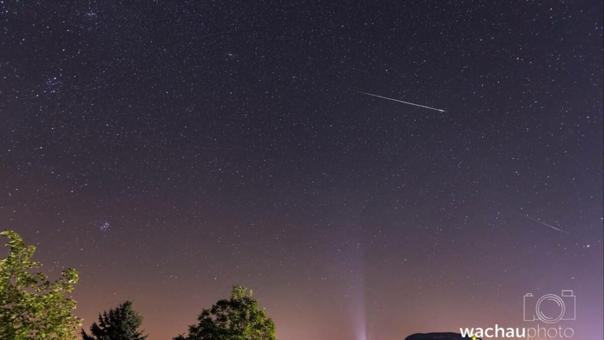 Lake Balaton Perseid Meteor Shower